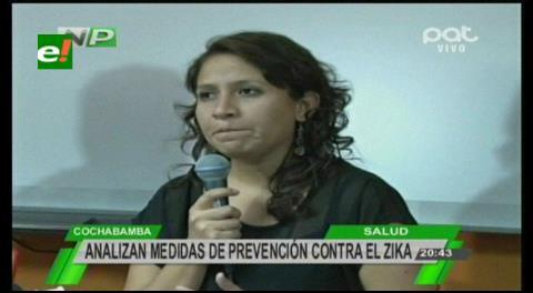 Ministra Campero: En Bolivia hay 14 casos positivos de zika registrados desde enero