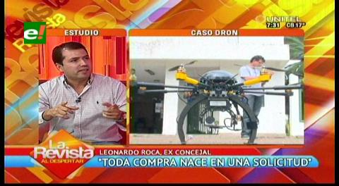Ex concejal Roca: Hay irregularidades en compra directa del dron
