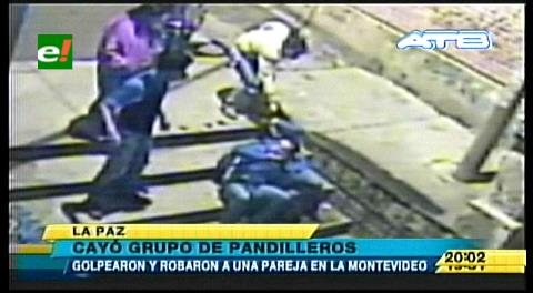 La Paz: Policía captura a pandilleros implicados en atraco