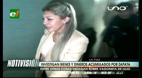 Investigan bienes y dineros acumulados por Zapata, indagan sobre una vagoneta de lujo