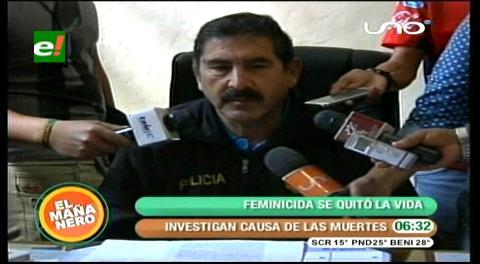 Hallan muerto a presunto feminicida en Cochabamba