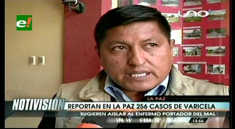 La Paz en alerta amarilla por 256 casos de varicela