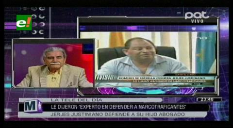 Ex embajador Jerjes Justiniano llama «mediocre» al ministro Romero