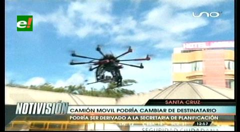 Plantean que el Municipio se quede con el dron