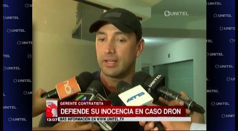 """Padilla y el caso dron: """"Soy inocente, tengo todo respaldado"""""""
