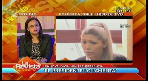 """Gobierno ve """"toda una estrategia"""" opositora tras revelaciones sobre el hijo de Morales"""