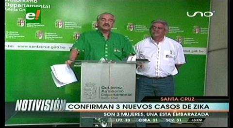 Sedes reporta tres nuevos casos de zika en la capital cruceña