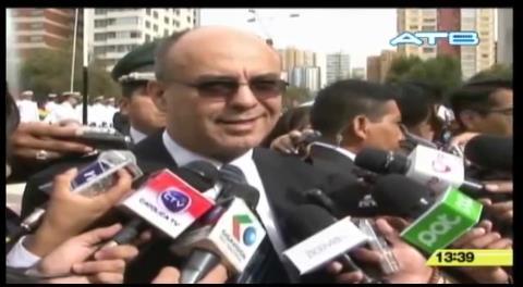 Ministro Ferreira reitera que el hijo de Zapata con Morales no existe