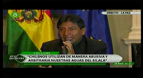 Choquehuanca: Chile tiene con Bolivia una deuda histórica a la que no vamos a renunciar