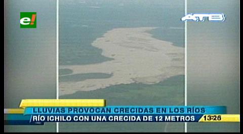 Searpi reporta varias crecidas en los ríos por las lluvias