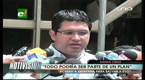 """Peña y el caso Zapata: """"Carta y chats son estrategias para distraer la atención"""""""