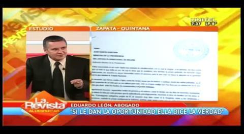 Piden autorizar una conferencia de prensa para Zapata