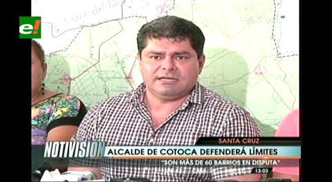 Cotoca defenderá sus límites con Santa Cruz