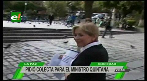 """Hacen campaña solidaria para que """"pobrecito"""" ministro Quintana pague abogados"""