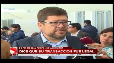 Samuel asegura que el Gobierno lo persigue financieramente
