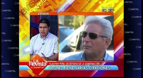 "Gobernación cruceña ve ""invasión de competencias"" de la Cámara de Diputados"