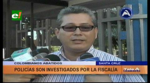 Balacera en Santa Cruz: Investigación se amplía a cuatro agentes del grupo DACI