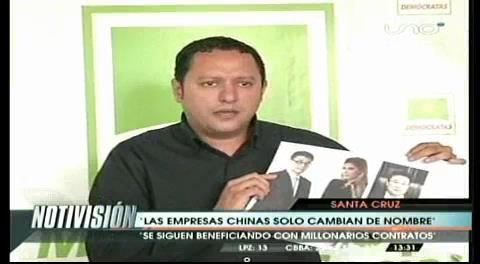 Diputado Dorado revela nexos de Zapata y gerente de Beijing Urban