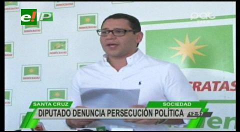 """Diputado Monasterio: """"No vamos a parar hasta que Guillermo Achá termine en la cárcel"""""""