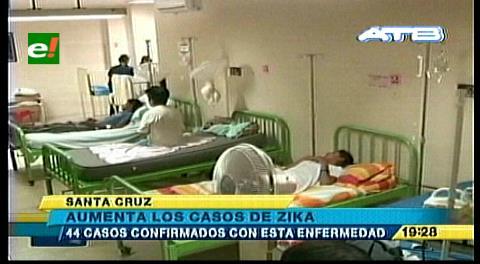 Subieron a 44 los casos de zika; continúa la campaña en Santa Cruz