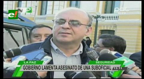 Ministro Ferreira: «Presidente está dolido por muerte de suboficial de la FAB»