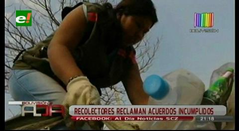 Comunidad Recicladores piden terreno para un centro de acopio