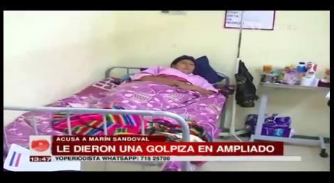 Asambleísta sufre aborto por golpiza en Caranavi, culpa a Marín Sandoval