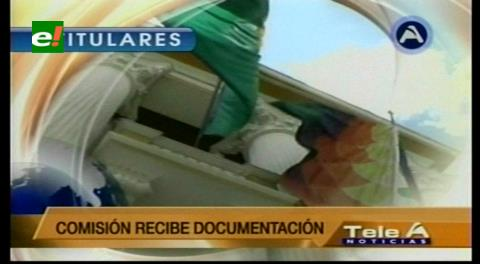 Titulares de TV: Inicia la inscripción de candidatos a la Contraloría de la Nación