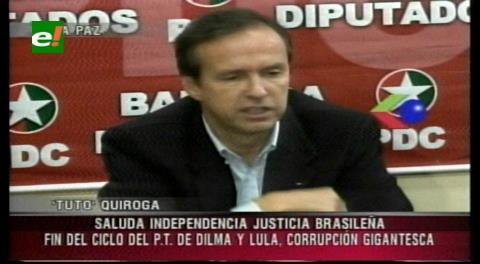 """Tuto sobre Dilma: """"En Brasil hay justicia independiente"""""""