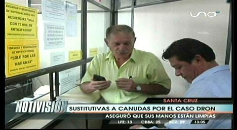 Dictan arraigo para José Canudas por el caso dron