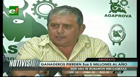 Ganaderos denuncian pérdidas por abigeato
