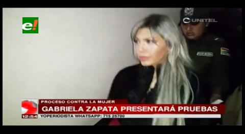 """El miércoles presentarán pruebas de la """"inocencia"""" de Gabriela Zapata"""