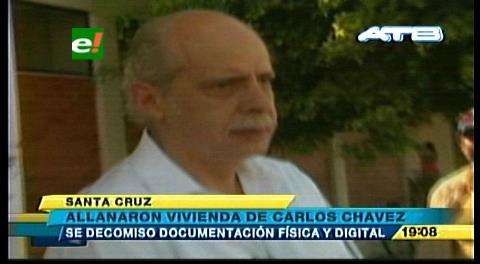 Allanan los domicilios de Carlos Chávez y Lozada, exdirigentes del fútbol boliviano