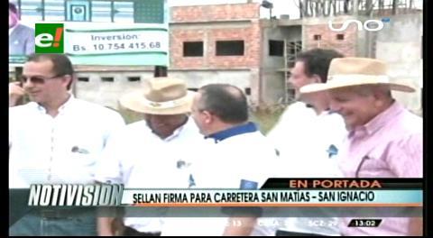 Titulares: Caravana de integración llegó a San Matías, construirán carretera que conecte con San Ignacio