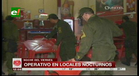 Santa Cruz: Carabineros de la Policía realizan operativos en locales nocturnos