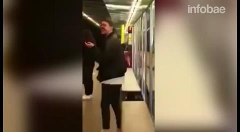 Buscan a esta pareja por practicar sexo en el metro de Barcelona