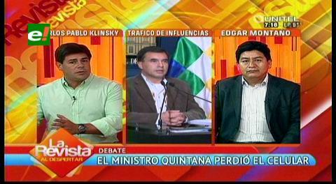 """Senador Klinsky sobre el caso Zapata: """"El presidente encubre corrupción"""""""