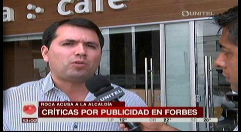 Roca y Valverde critican publicación municipal en Revista Forbes