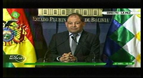 Ministro Romero: Las rejas en Plaza Murillo son para evitar agresión a policías