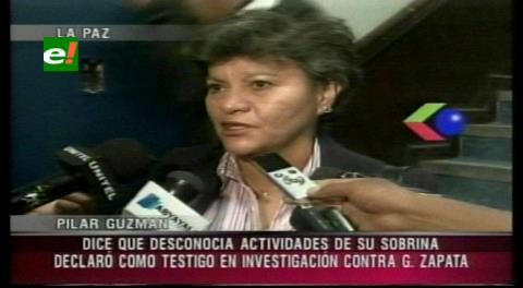 Tía de Zapata declaró en calidad de testigo en la Fiscalía