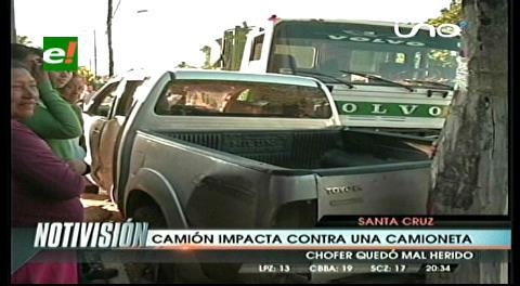 Conductores imprudentes provocaron dos accidentes