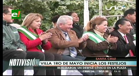 Villa Primero de Mayo cumple 47 años: Autoridades participaron de los festejos