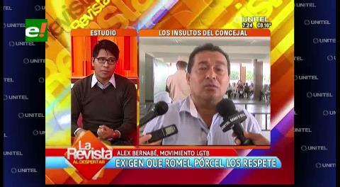 """Movimiento LGTB critica lenguaje """"homofóbico"""" del concejal Pórcel"""