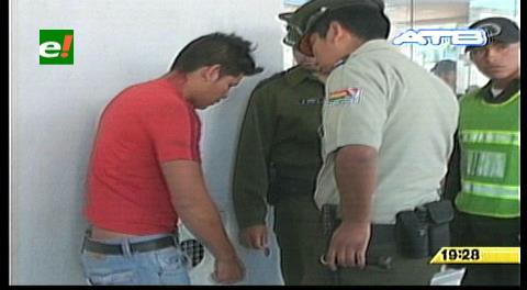 Santa Cruz: Arrestan a sospechoso de robar en el centro de la ciudad