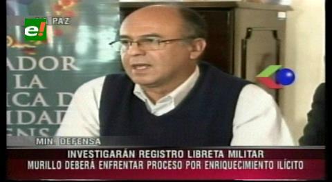 Gobierno anuncia juicio a Murillo por enriquecimiento ilícito