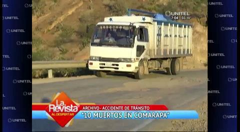 Accidente en Comarapa deja doce fallecidos y al menos 30 heridos