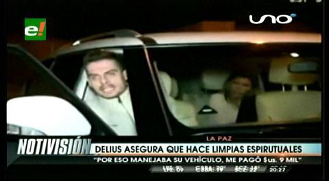 "¿Cantante y ""brujo""? Delius hizo una ""limpia espiritual"" a Gabriela Zapata"