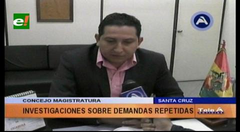Investigan demandas repetidas en el Palacio de Justicia de Santa Cruz