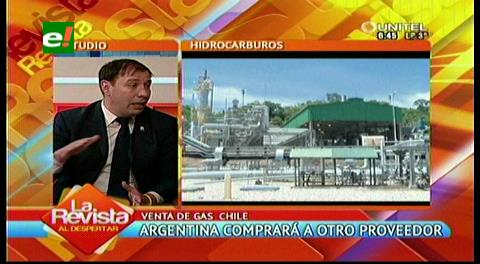Para el MAS la compra de gas de Argentina a Chile es coyuntural