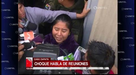Choque revela que Quintana y Guerrero se reunieron 2 veces en 2015